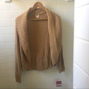 Light weight brown cardigan